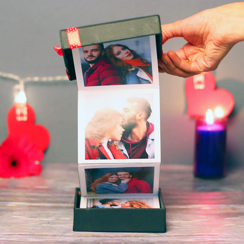 Pull Me Up Zig Zag Personalised Photo Frame Gift