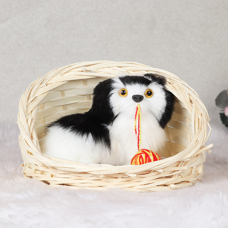 Pup in A Basket Love Gift