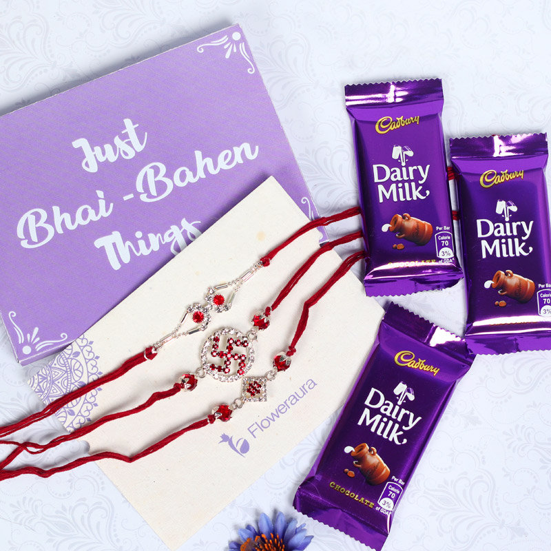 Purple Love Rakhi
