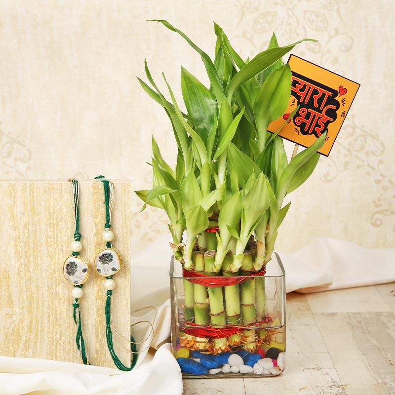 Pyara Bhai Rakhi Bamboo