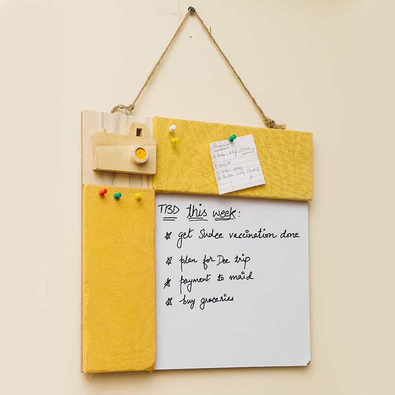Quirky Yellow Hobby board