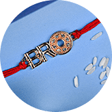 Send Quirky rakhi online to India