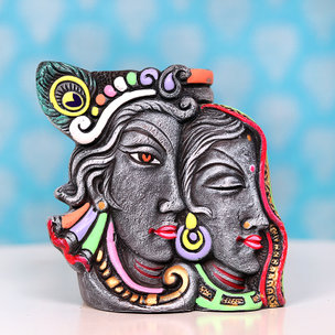 Radha Krishna Pen Holder