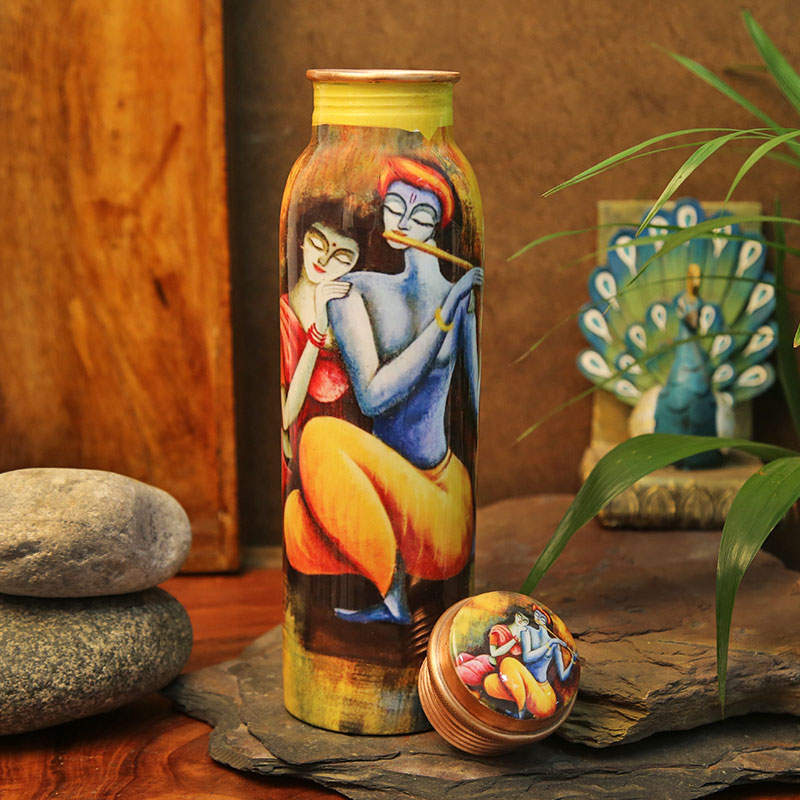 Radha Rani Copper Bottle