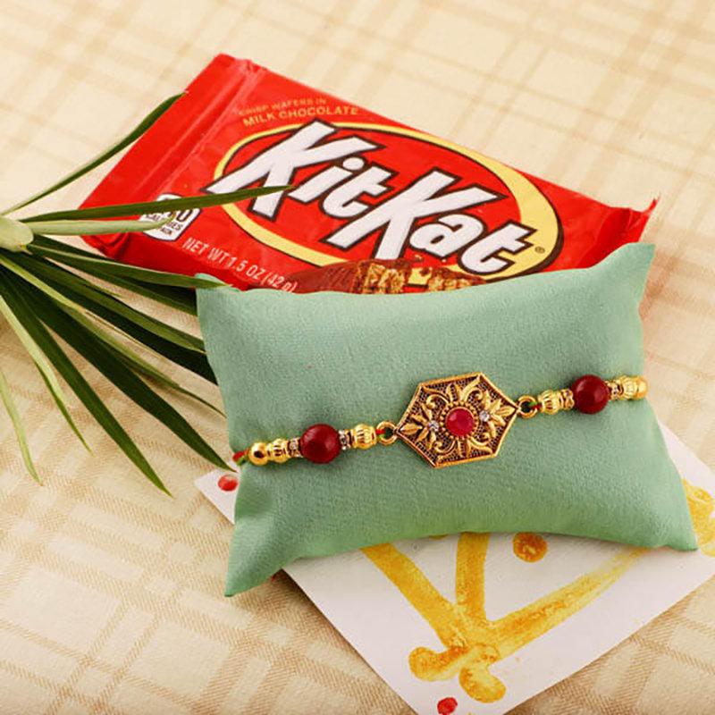 Rakhi And Kit Kat