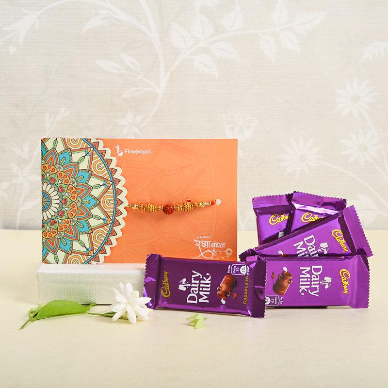 Rakhi Cadbury Choco Combo