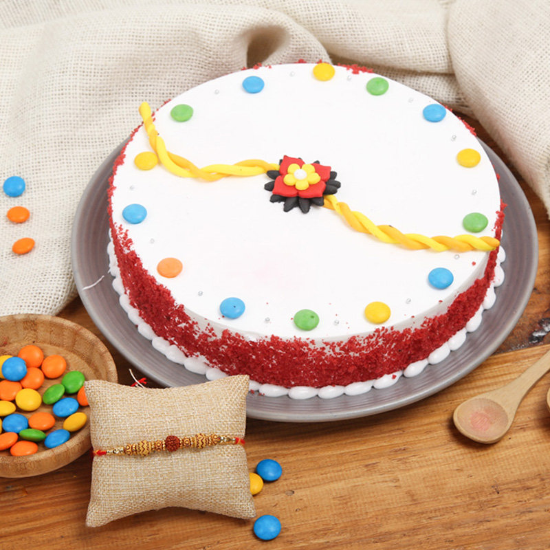 Rakhi Cake Combo - Fastest Delivery Services