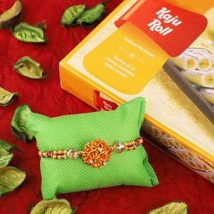Rakhi Kaju Roll Combo