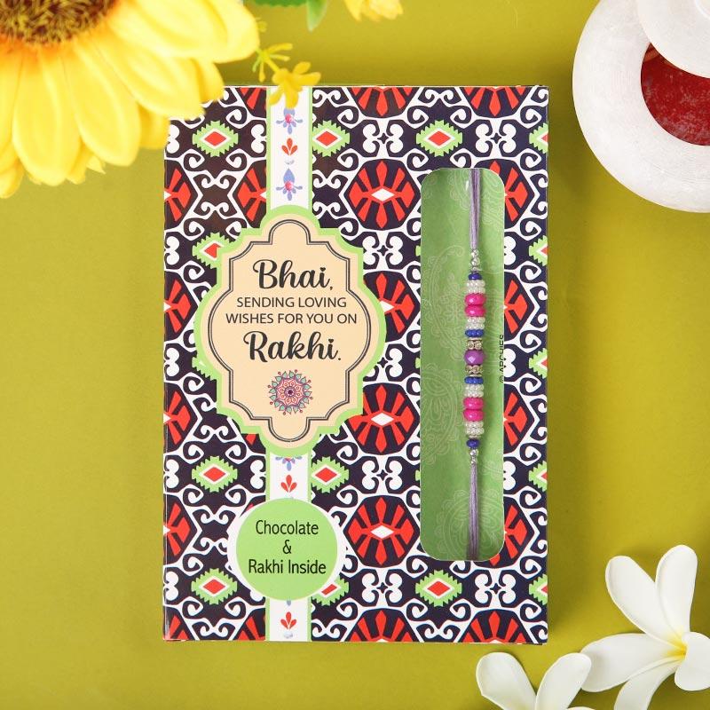 Rakhi N Card Hersheys Combo