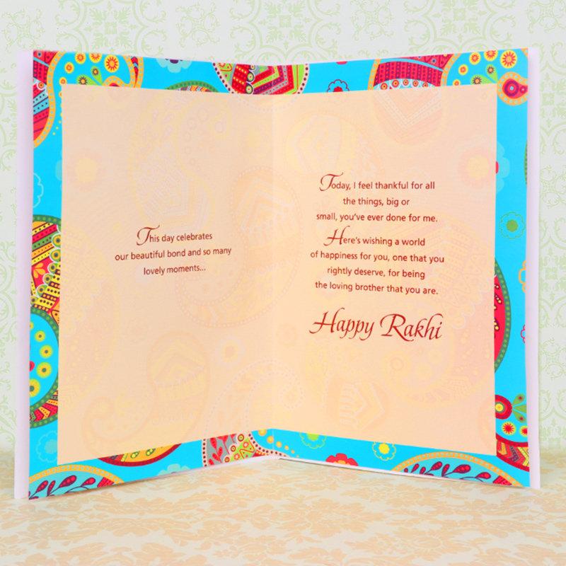 Rakhi Card in Rakhi Greetings - A Greeting Card for Bhai