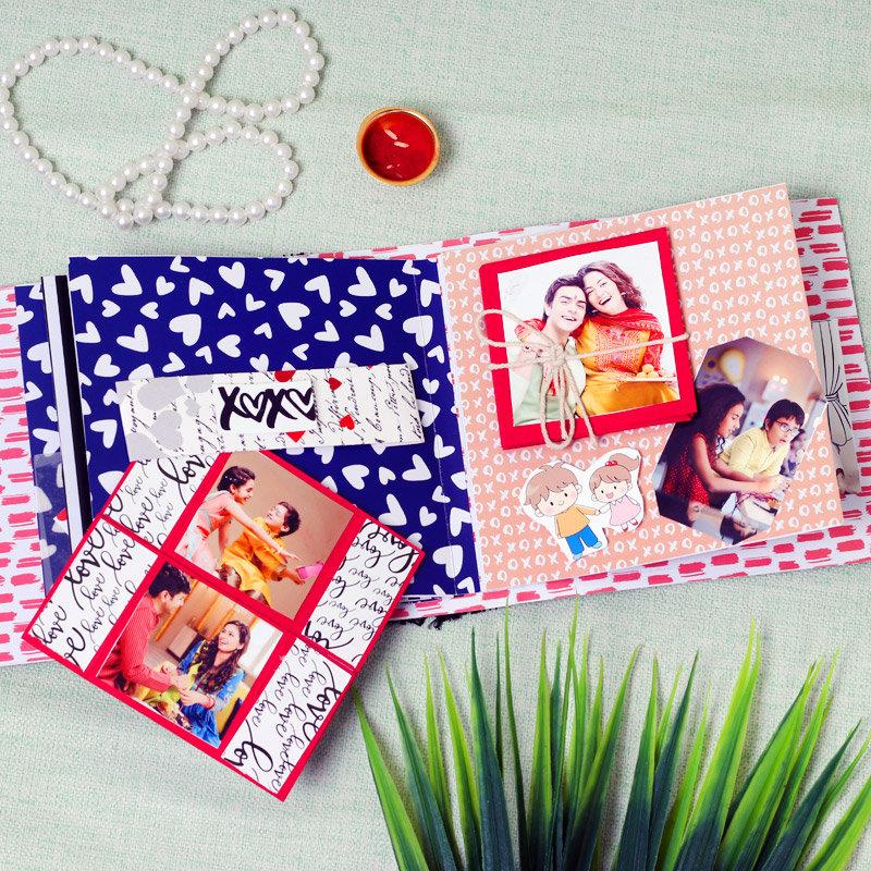 Rakhi Special Memory Book - Online Rakhi Gifts for Bhaiya Bhabhi