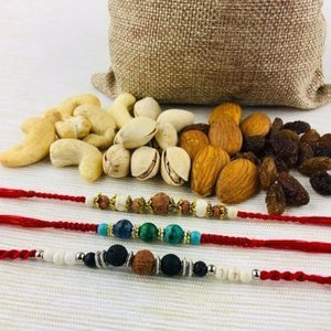 Send Rakhi with Dry Fruits in Germany