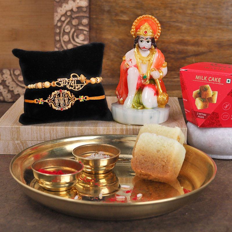 Hanuman Shir Ram Rakhi Pack - Divine Rakhi