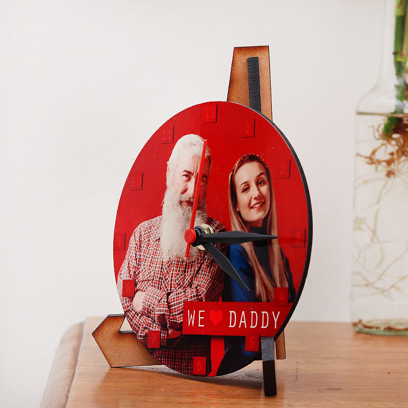Fathers Day Gift Clock