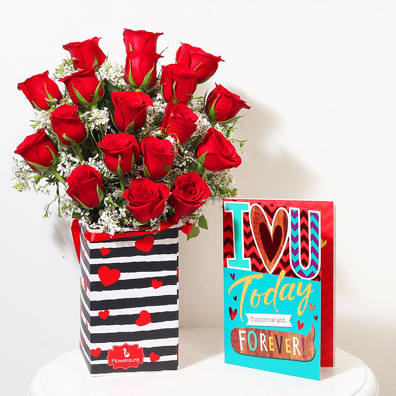 Red Roses For Your Sweetheart