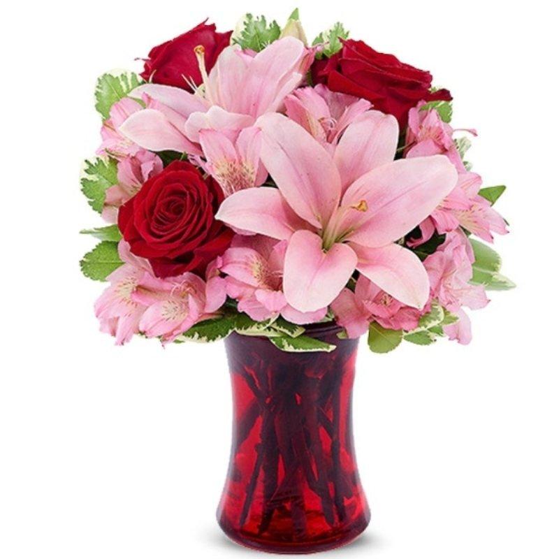 Red N Pink Blooms