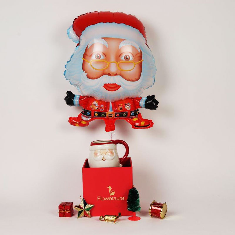 Red Pop Up Christmas box