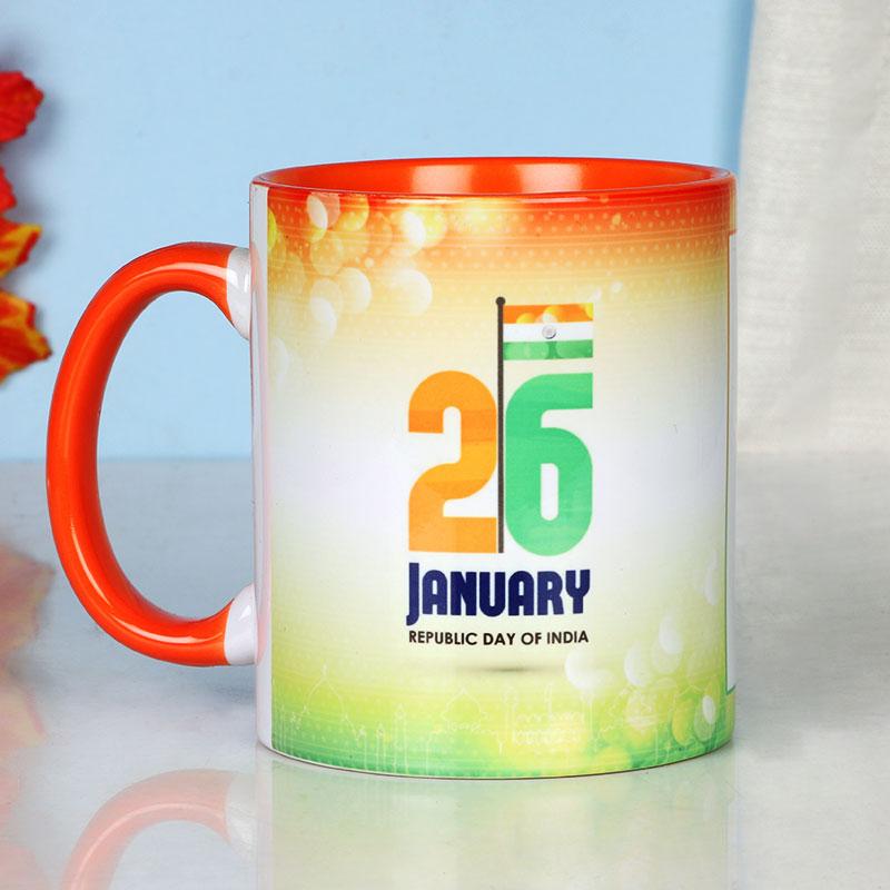 Republic Day Photo Mug