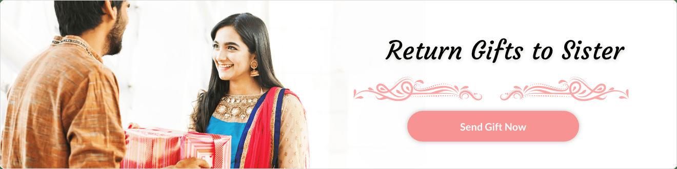 Rakhi Return Gifts for Sister Online