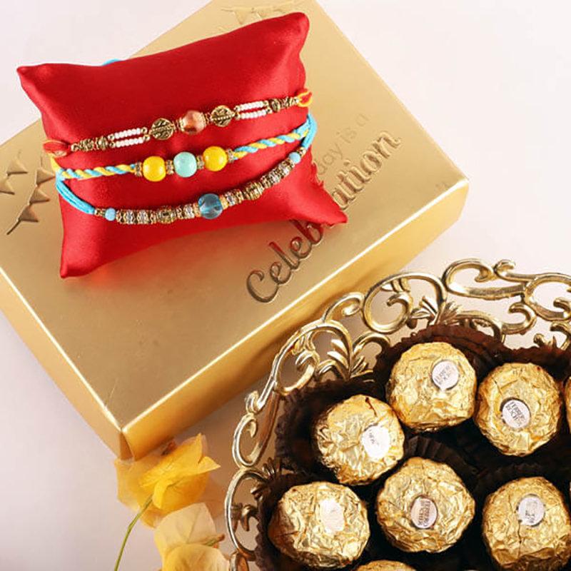 Rich N Chocolaty Rakhi Pack