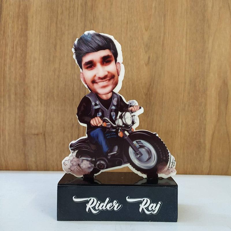 Rider Caricature