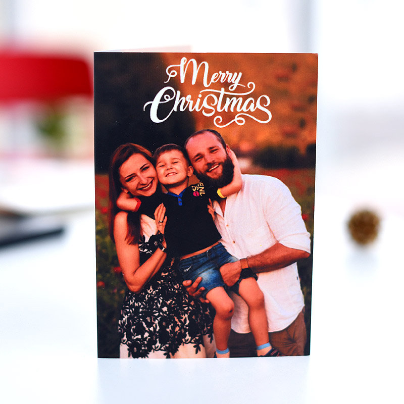 Personalised Christmas Greeting Card