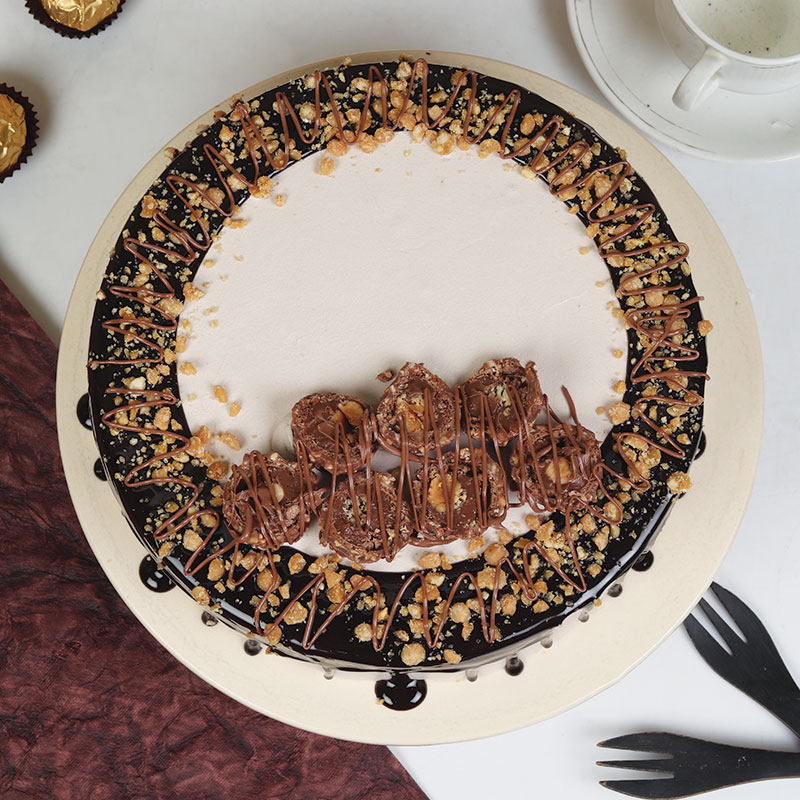 Order Rocher Nutty Cake Delivery