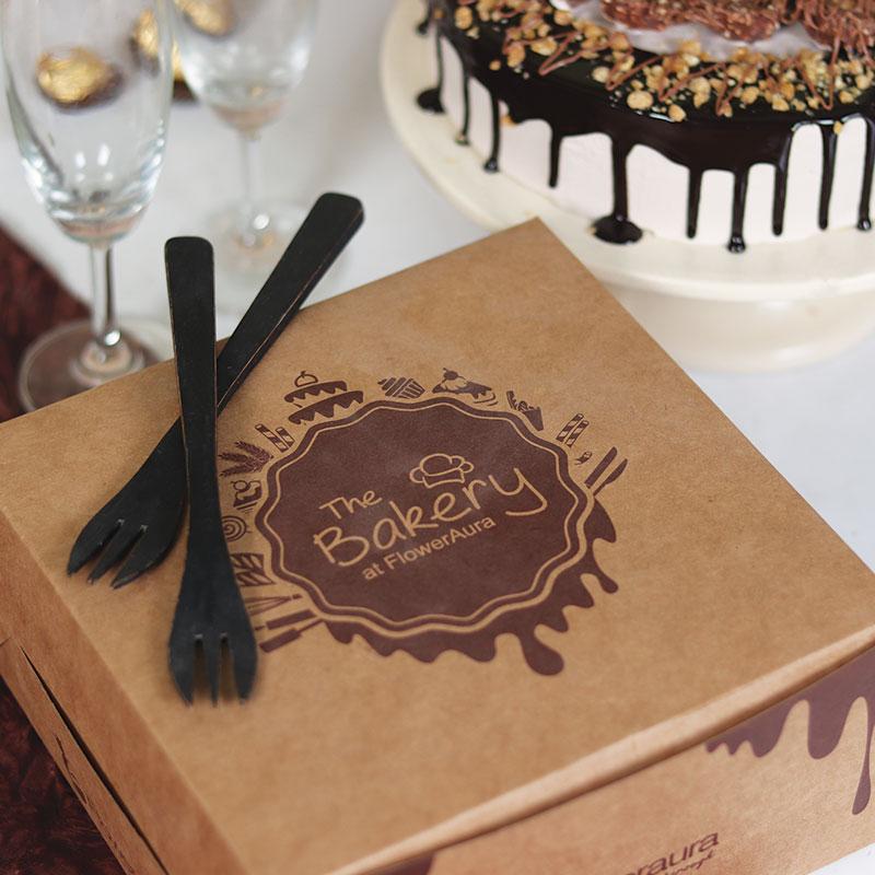 Rocher Nutty Birthday Cake Delivery