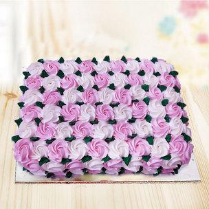 Anniversary Cream Cake
