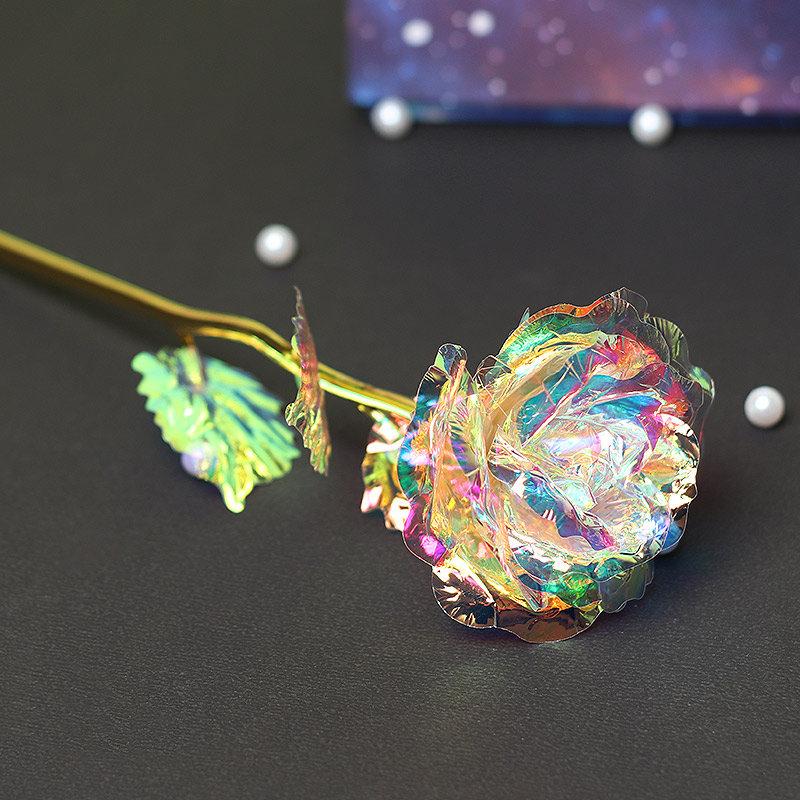Multicolored Artificial Rose