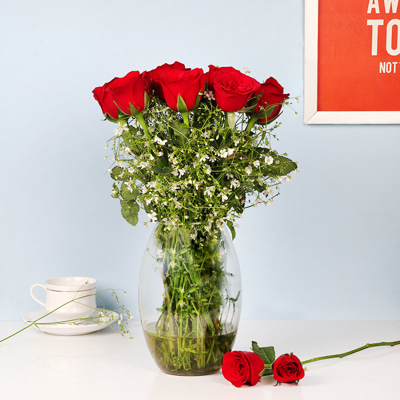 Romantic Roses Bunch