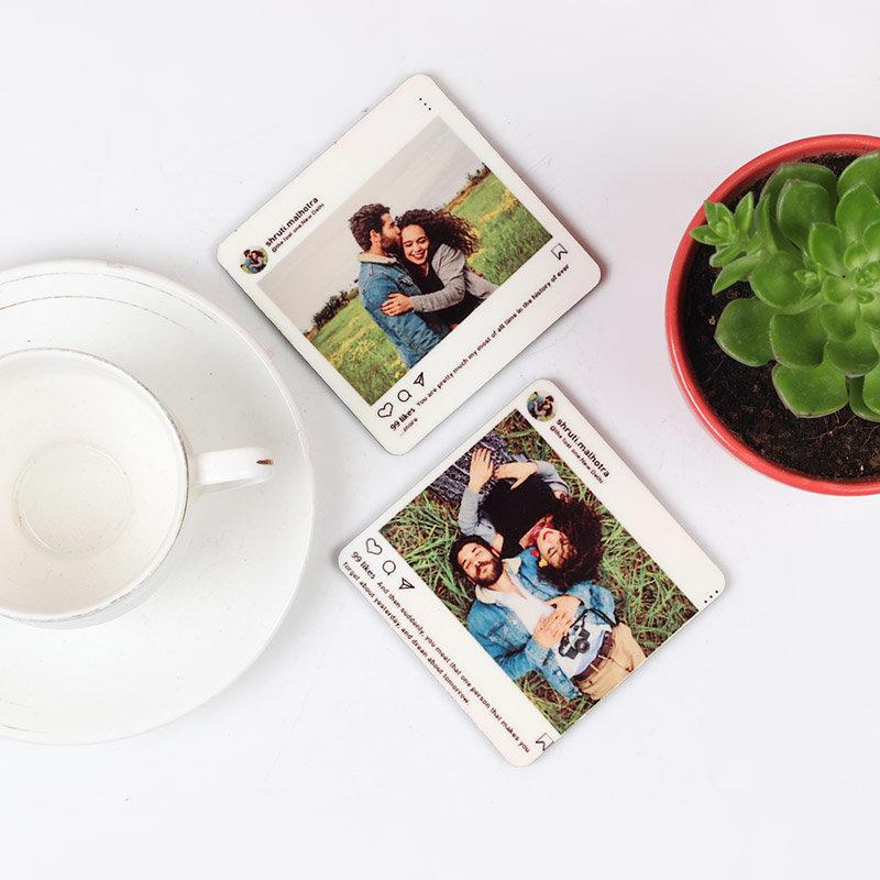 Romantic Valentines Coaster