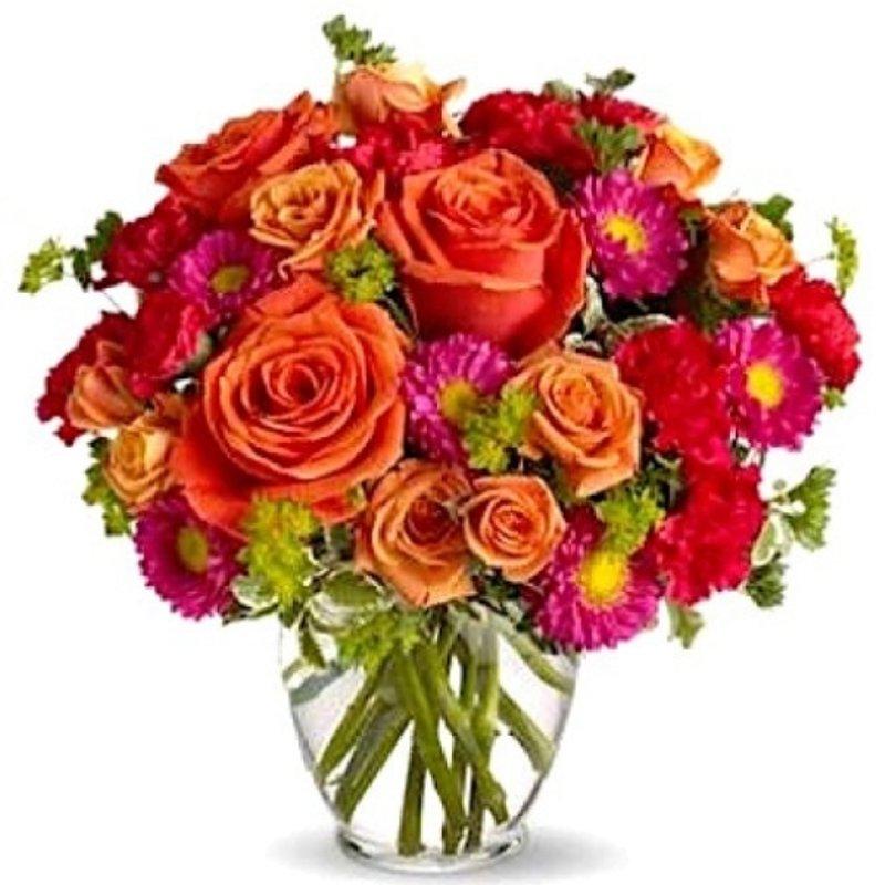 Roses N Carnations