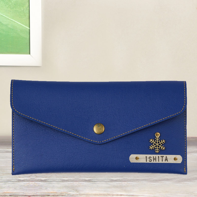 Royal Blue Personalized Wallet