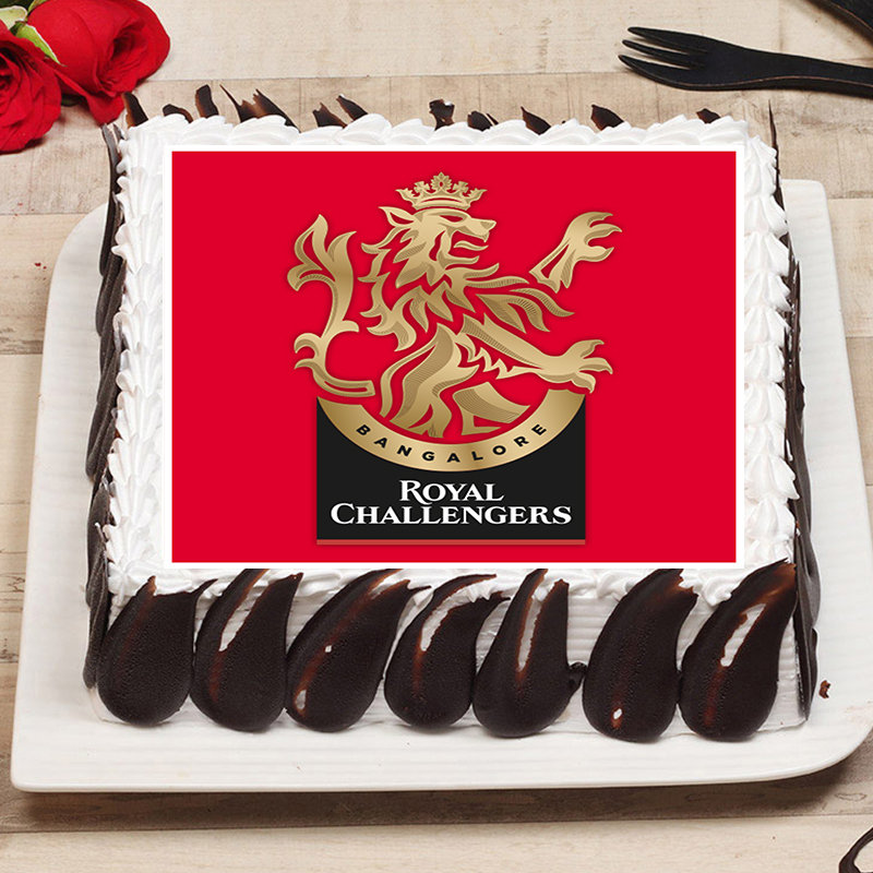 Royal Challengers Poster Cake