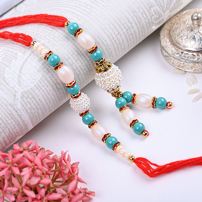 Order Royal Family Rakhi Combo Online