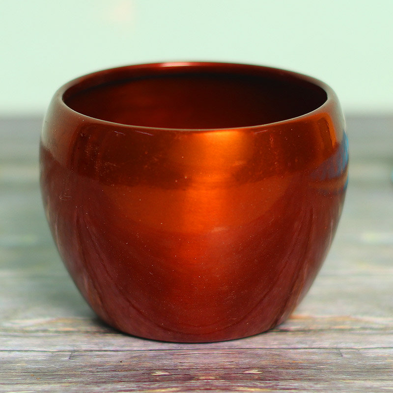Rust Metal Vase