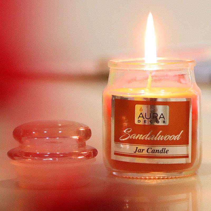 Premium Sandalwood Jar Candle Gift Pack