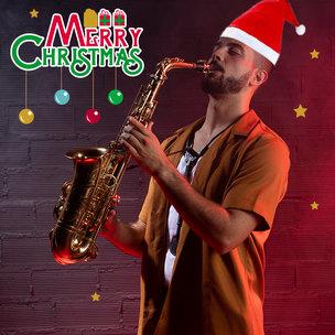 Saxophone On Christmas