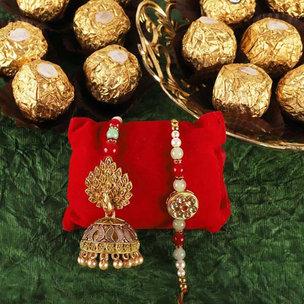 Scrumptious Rakhi Ferrero Rocher Set