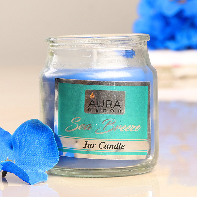 Zoom view of Sea Breeze Jar Candle