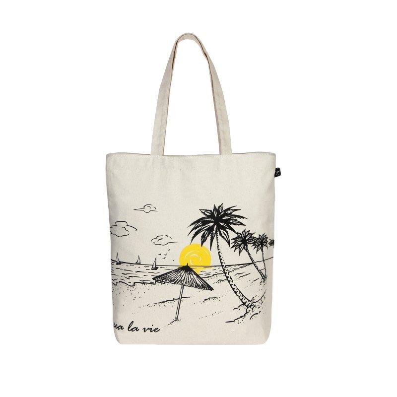 Sea La Vie Tote Bag: Sea La Vie Simple Tote Bag