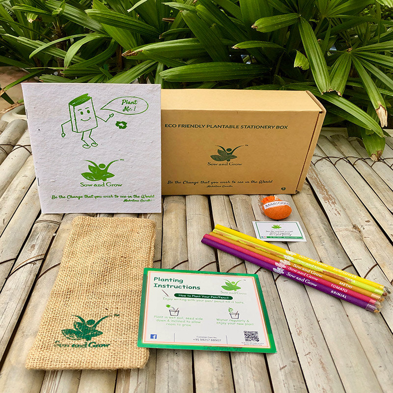 Seeding Out Stationery Box