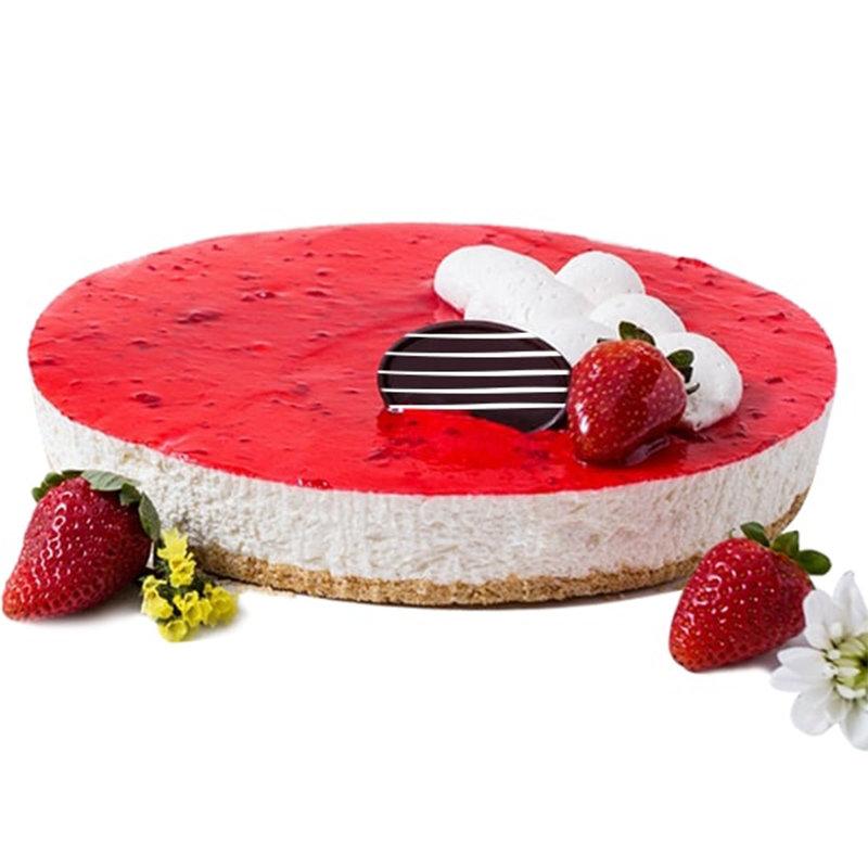 Sensation Strawberry Glaze Cheesecake