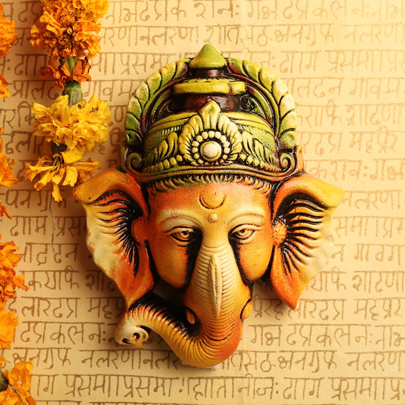 Serene Ganesha Wall Hanging