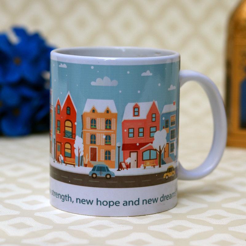 Show scape new year mug 2021