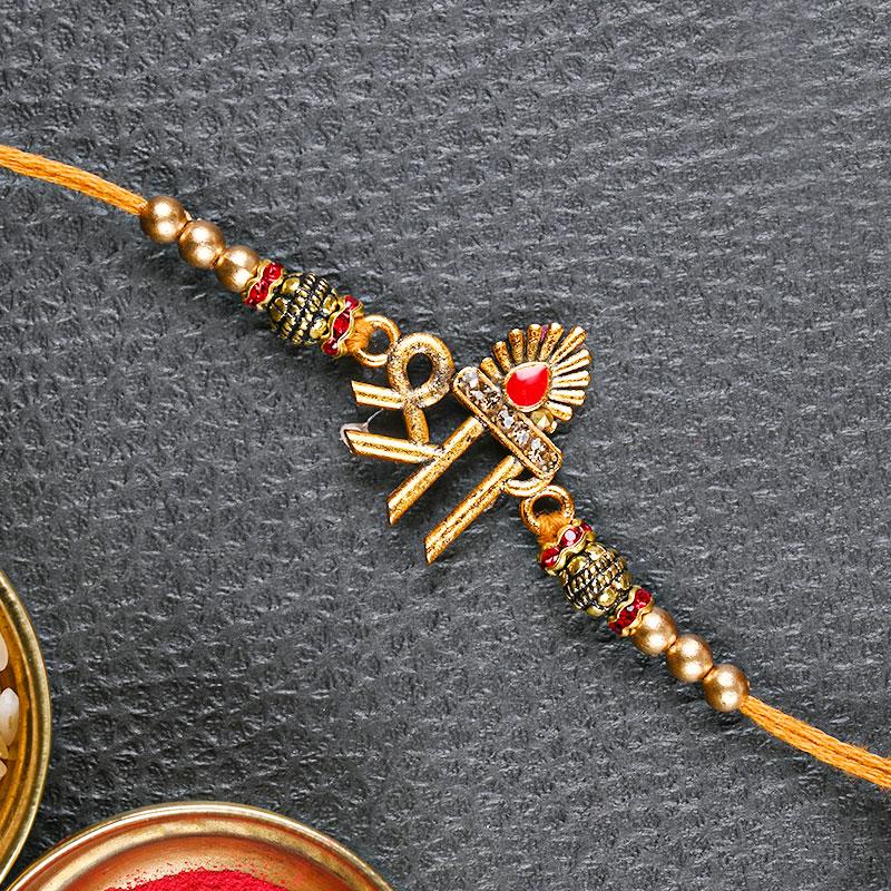Shree Dial Rakhi - Divine rakhi, Traditional