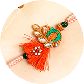 Send Silk Thread rakhi online to India