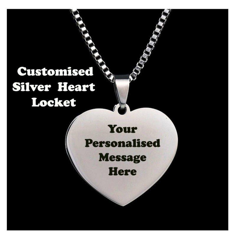 Silver Customised Locket