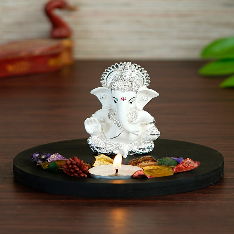 Silver Siddhivinayak Idol